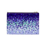 Purple Disintegrate Cosmetic Bag (Medium)  Back