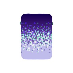 Purple Disintegrate Apple Ipad Mini Protective Soft Cases