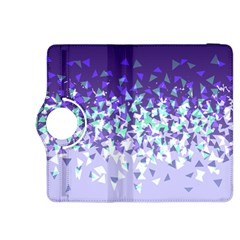 Purple Disintegrate Kindle Fire Hdx 8 9  Flip 360 Case