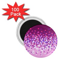 Pink Disintegrate 1 75  Magnets (100 Pack)