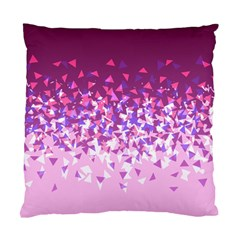 Pink Disintegrate Standard Cushion Case (one Side)