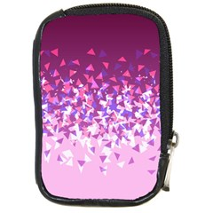 Pink Disintegrate Compact Camera Cases