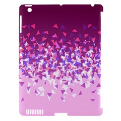 Pink Disintegrate Apple Ipad 3/4 Hardshell Case (compatible With Smart Cover)