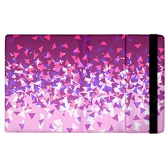 Pink Disintegrate Apple Ipad 2 Flip Case