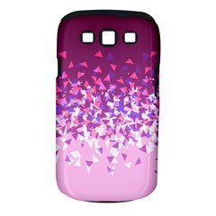 Pink Disintegrate Samsung Galaxy S Iii Classic Hardshell Case (pc+silicone)
