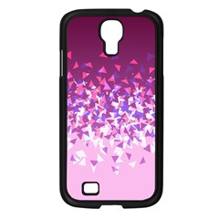 Pink Disintegrate Samsung Galaxy S4 I9500/ I9505 Case (black)