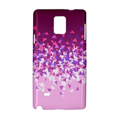 Pink Disintegrate Samsung Galaxy Note 4 Hardshell Case
