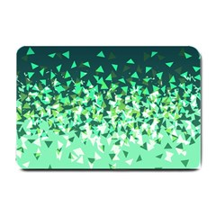 Green Disintegrate Small Doormat