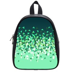 Green Disintegrate School Bag (small)