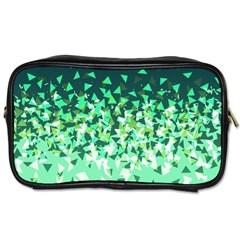 Green Disintegrate Toiletries Bags