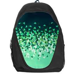 Green Disintegrate Backpack Bag
