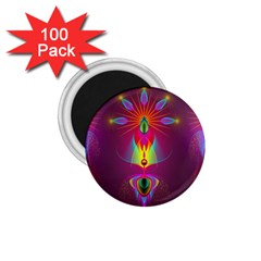 Abstract Bright Colorful Background 1 75  Magnets (100 Pack)