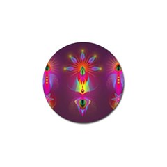 Abstract Bright Colorful Background Golf Ball Marker (10 Pack)