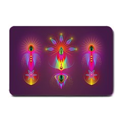 Abstract Bright Colorful Background Small Doormat