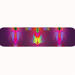 Abstract Bright Colorful Background Large Bar Mats