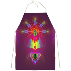 Abstract Bright Colorful Background Full Print Aprons