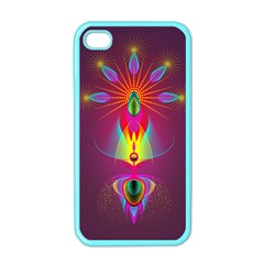 Abstract Bright Colorful Background Apple Iphone 4 Case (color)