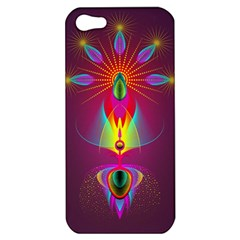 Abstract Bright Colorful Background Apple Iphone 5 Hardshell Case