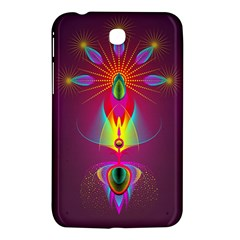 Abstract Bright Colorful Background Samsung Galaxy Tab 3 (7 ) P3200 Hardshell Case