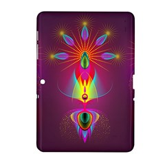 Abstract Bright Colorful Background Samsung Galaxy Tab 2 (10 1 ) P5100 Hardshell Case
