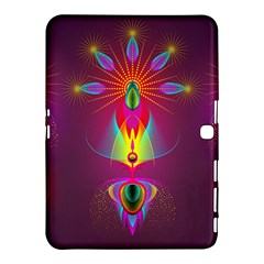 Abstract Bright Colorful Background Samsung Galaxy Tab 4 (10 1 ) Hardshell Case