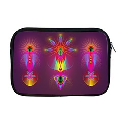 Abstract Bright Colorful Background Apple Macbook Pro 17  Zipper Case