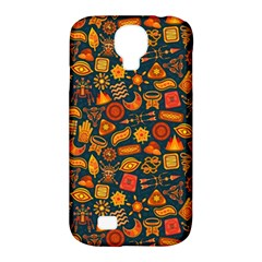 Pattern Background Ethnic Tribal Samsung Galaxy S4 Classic Hardshell Case (pc+silicone)