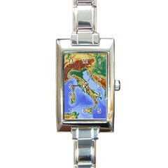 Italy Alpine Alpine Region Map Rectangle Italian Charm Watch