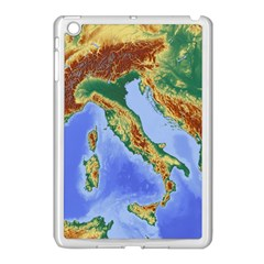 Italy Alpine Alpine Region Map Apple Ipad Mini Case (white)
