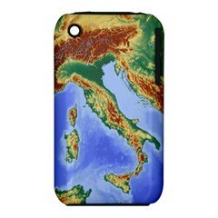 Italy Alpine Alpine Region Map Iphone 3s/3gs