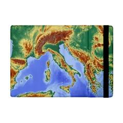 Italy Alpine Alpine Region Map Ipad Mini 2 Flip Cases