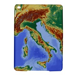 Italy Alpine Alpine Region Map Ipad Air 2 Hardshell Cases