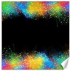 Frame Border Feathery Blurs Design Canvas 20  X 20