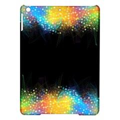Frame Border Feathery Blurs Design Ipad Air Hardshell Cases
