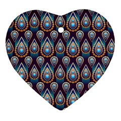 Seamless Pattern Pattern Ornament (heart)