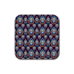 Seamless Pattern Pattern Rubber Coaster (square)