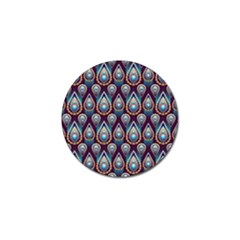 Seamless Pattern Pattern Golf Ball Marker