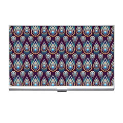 Seamless Pattern Pattern Business Card Holders