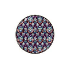 Seamless Pattern Pattern Hat Clip Ball Marker (4 Pack)