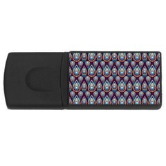 Seamless Pattern Pattern Rectangular Usb Flash Drive