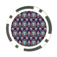 Seamless Pattern Pattern Poker Chip Card Guard