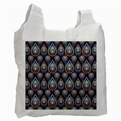 Seamless Pattern Pattern Recycle Bag (one Side)