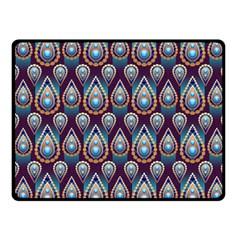 Seamless Pattern Pattern Fleece Blanket (small)