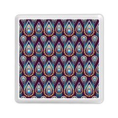 Seamless Pattern Pattern Memory Card Reader (square)