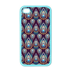 Seamless Pattern Pattern Apple Iphone 4 Case (color)