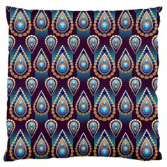 Seamless Pattern Pattern Large Cushion Case (two Sides)