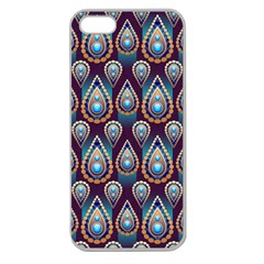 Seamless Pattern Pattern Apple Seamless Iphone 5 Case (clear)