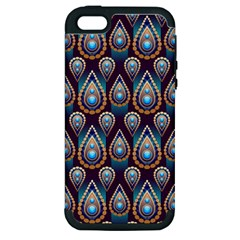 Seamless Pattern Pattern Apple Iphone 5 Hardshell Case (pc+silicone)