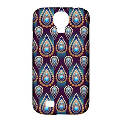 Seamless Pattern Pattern Samsung Galaxy S4 Classic Hardshell Case (pc+silicone)