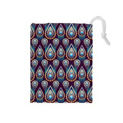 Seamless Pattern Pattern Drawstring Pouches (medium)
